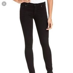 Citizens of Humanity black Avedon skinny jeans